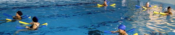 Les cours de gymnastique aquatique