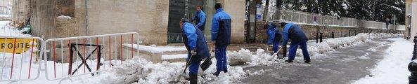 Episode neigeux Arles