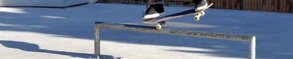 Le skate-park du centre ville Photo D. Bounias / Ville d'Arles