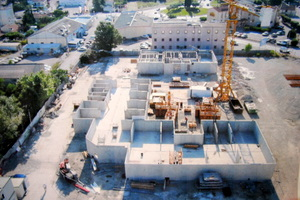 Construction de logements collectifs