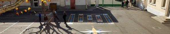 Cours de récréation - École élémentaire Brassens Camus