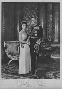 La reine Elisabeth et le prince Philip en 1972 à l'époque de leur venue à Arles