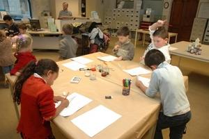 Atelier avec des enfants