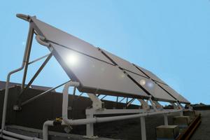 Capteur solaire du stade Fournier
