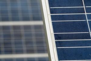 Capteur photovoltaïque sur le Domaine de la Palissade