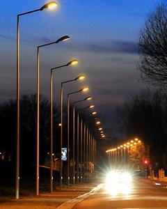 Éclairer la voirie avec des ampoules basse consommation