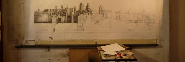 Atelier d'artiste de Tudor Onica