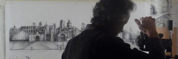 Prise de vue du dessin de Tudor Onica