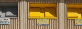 Container de tri séléctif à Monplaisir Photo P. Mercier/ Ville d'Arles