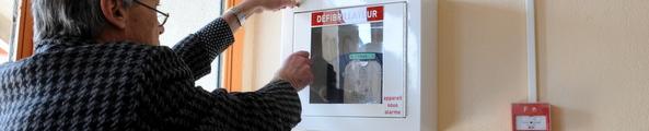 défibrillateur automatisé externe Photo D. Bounias / Ville d'Arles