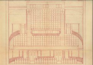 L'intérieur du théâtre, la réfection 1951 (ACA, M68)