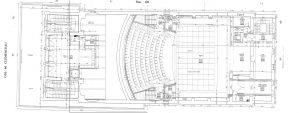 La salle contemporaine, plan du rdc, 2000 (ACA, 18doc20)