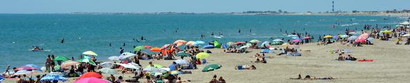 Piémanson, la plage d'Arles Photo P. Mercier / Ville d'Arles
