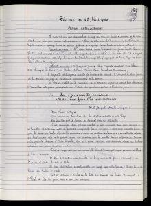 Délibération municipale du 29 mai 1968 (Archives Communales d'Arles, D70, p.177-178)