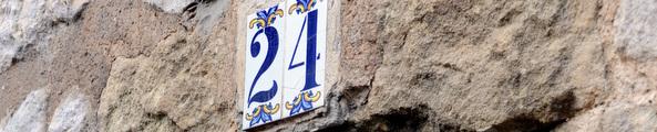Demande de numéro de voirie. Photo P. Mercier/Ville d'Arles