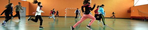 Le gymnase Robert-Morel / Photo P. Mercier / Ville d'Arles