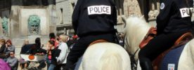 Police montée Photo P. Mercier / Ville d'Arles