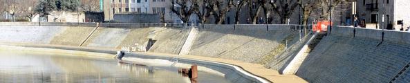 Les quais du Rhône Photo P. Mercier / Ville d'Arles