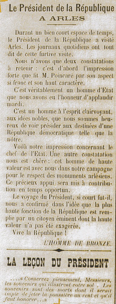 "Journal ""L'Homme de Bronze"" du 19/10/1913"