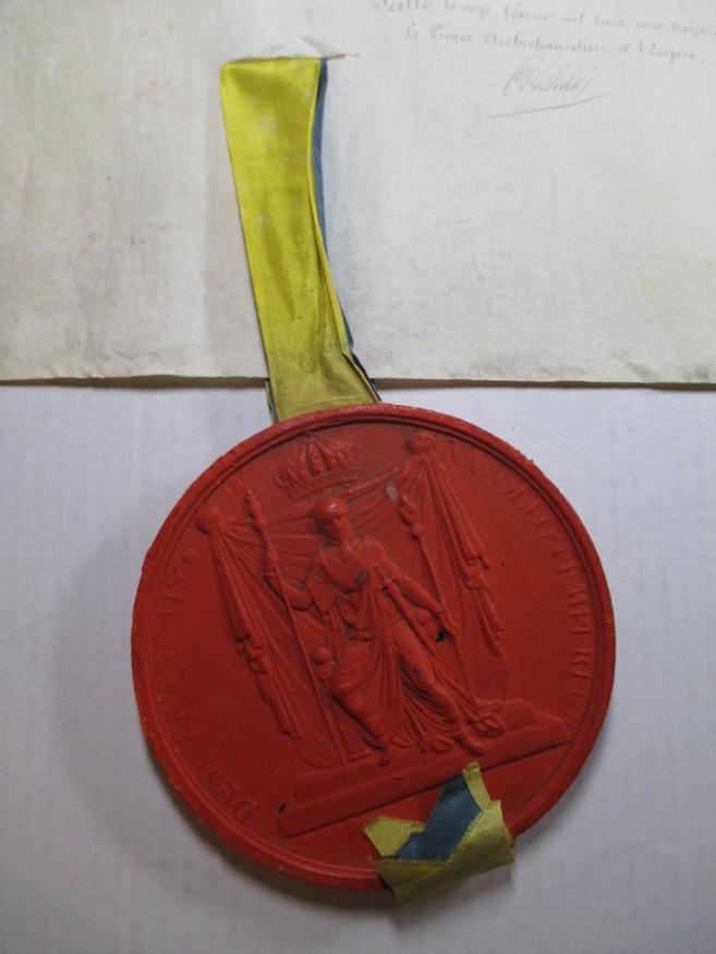 Document 4: Avers (face) du sceau pendant