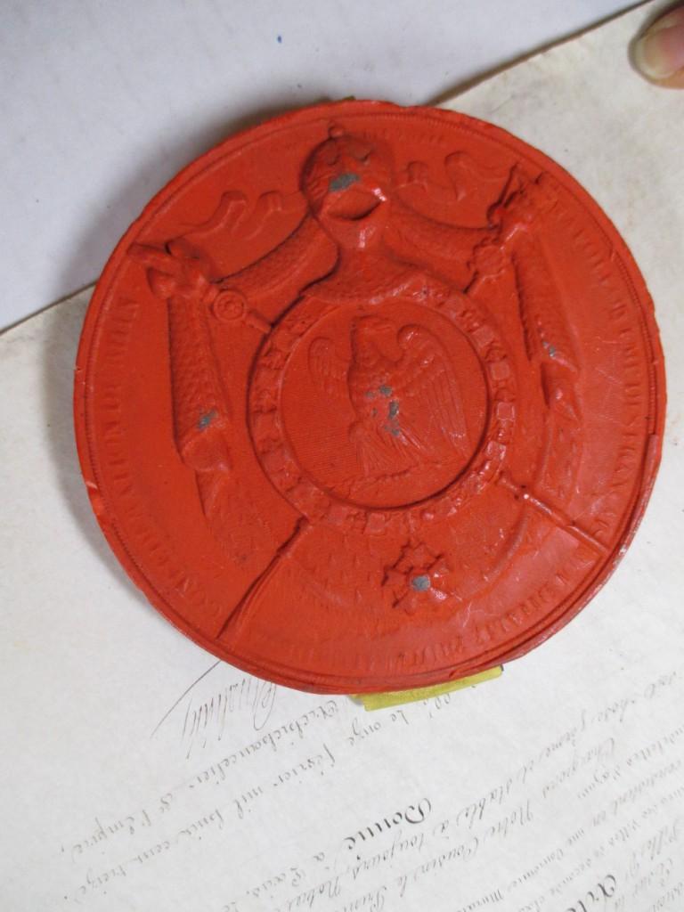 Document 5: Revers du sceau pendant