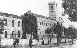 Le collège Frédéric Mistral dans les années 1930
