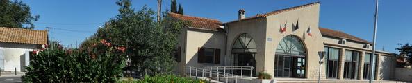 Façade de la mairie annexe de Mas-Thibert