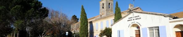 Façade de la mairie annexe de Moulès