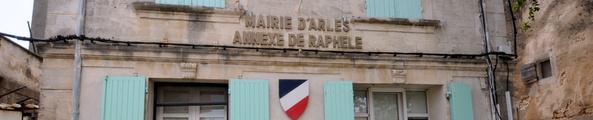 Façade de la mairie annexe de Raphèle