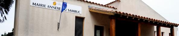 Façade de la mairie annexe du Sambuc